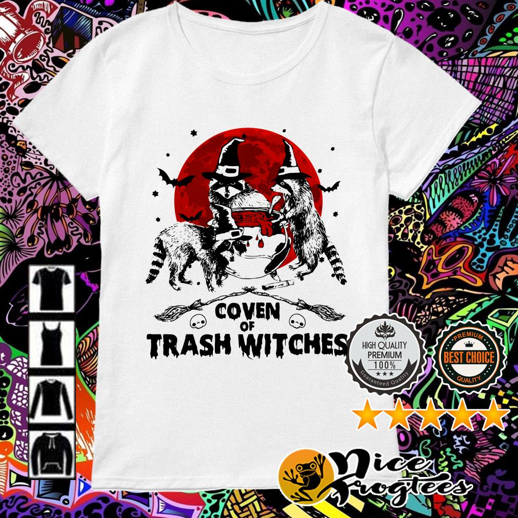 Otter coven trash witches Halloween Ladies Tee