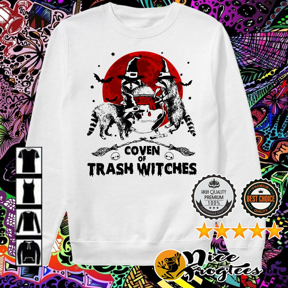 Otter coven trash witches Halloween Sweater