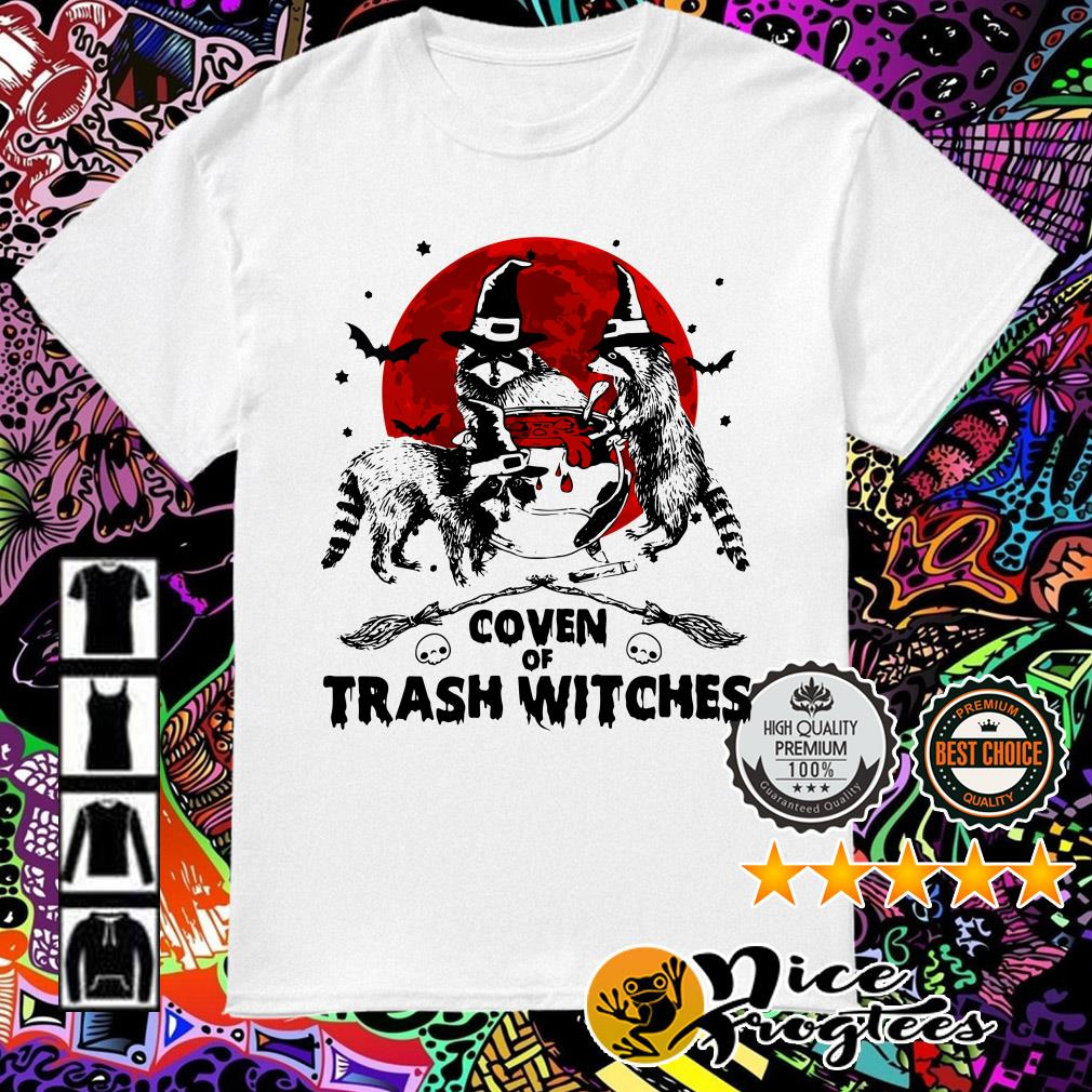 Otter coven trash witches Halloween shirt