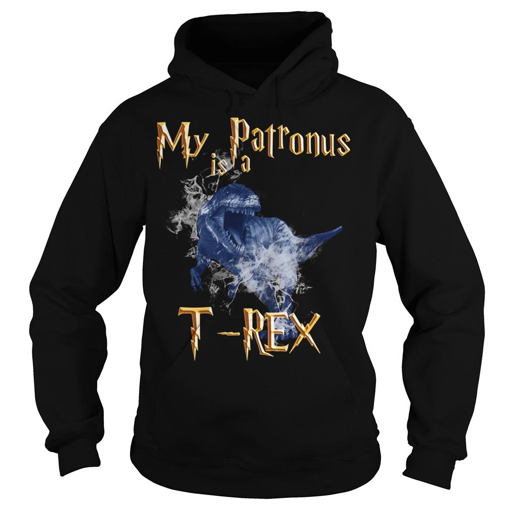 My Patronus is a T-Rex Hoodie