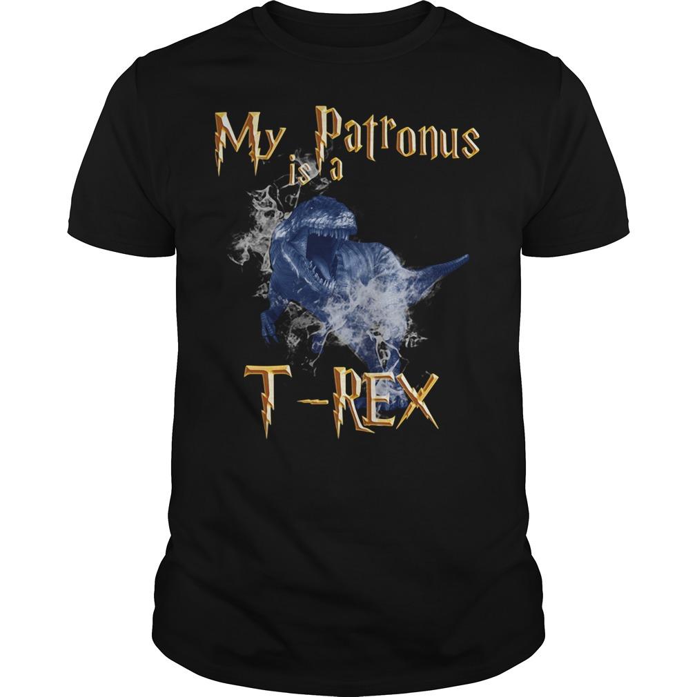 My Patronus is a T-Rex shirt