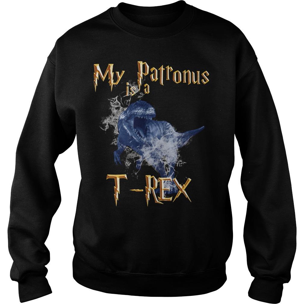 My Patronus is a T-Rex Sweater