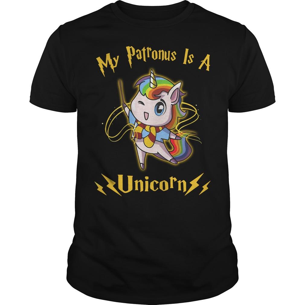 My patronus is a Unicorn shirt