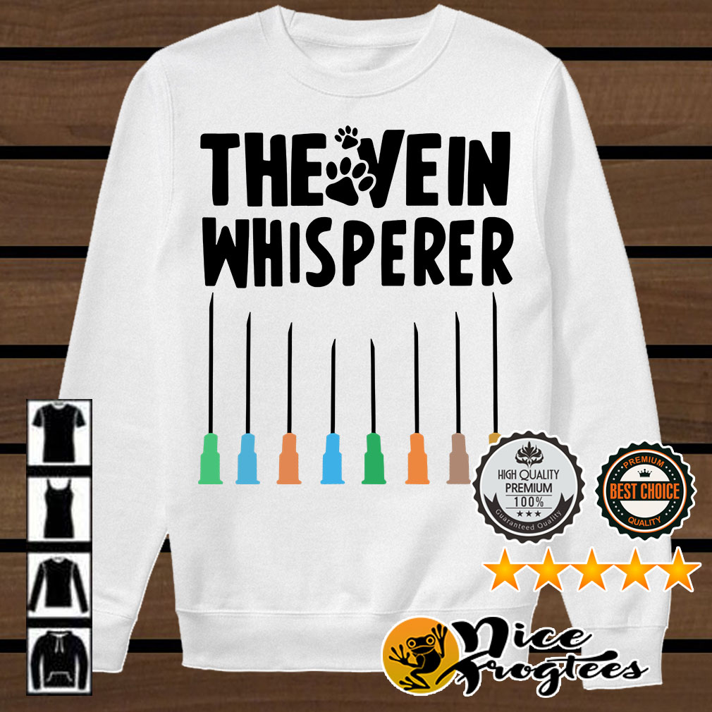 Paw dog the vein whisperer shirt