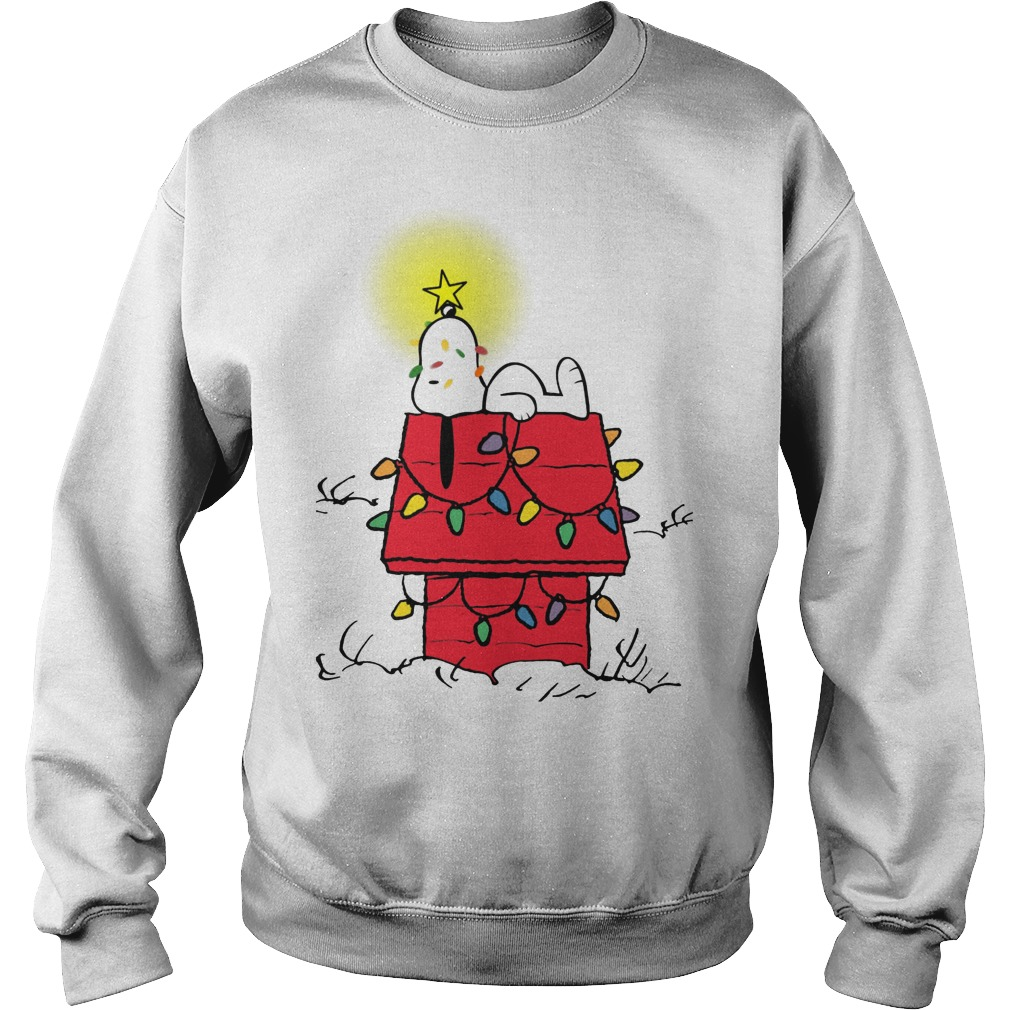 peanuts snoopy christmas ugly sweater