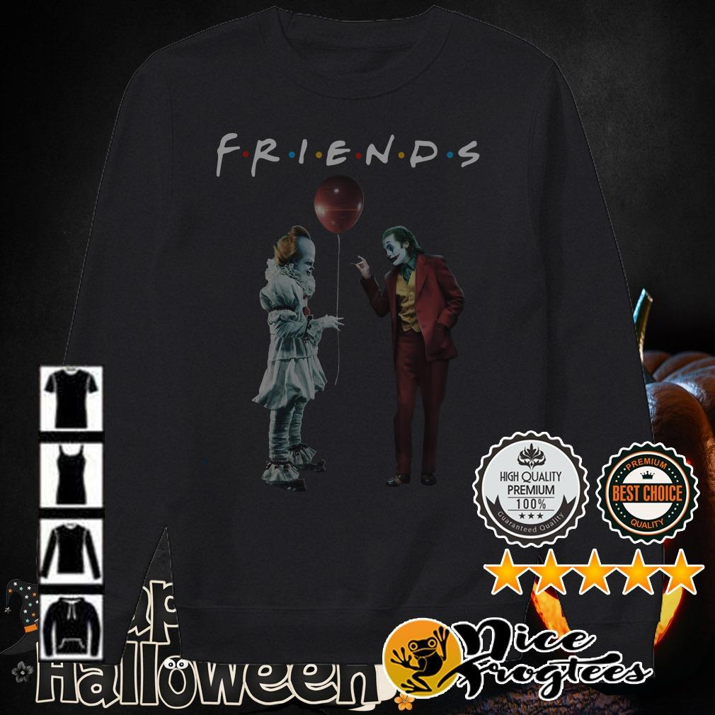 Pennywise and Joker Friends TV Show shirt