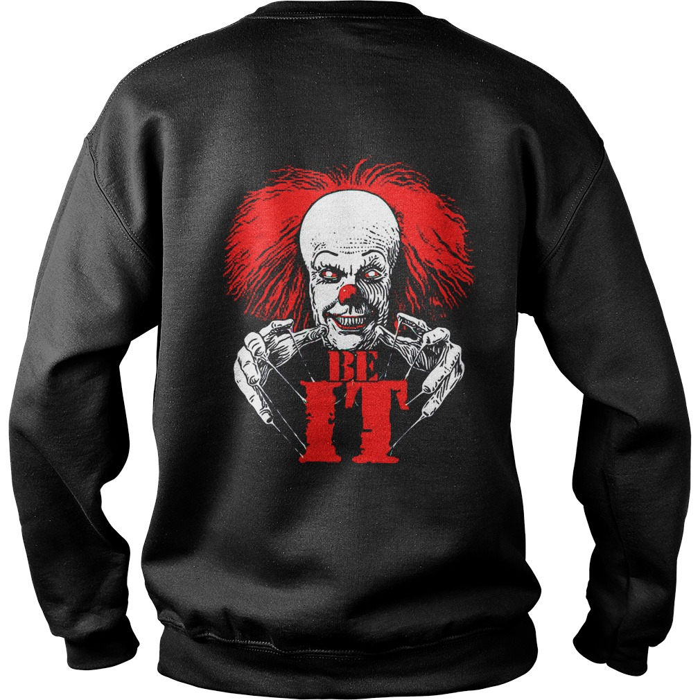 pennywise frank n furter don't be dream it be it sweater