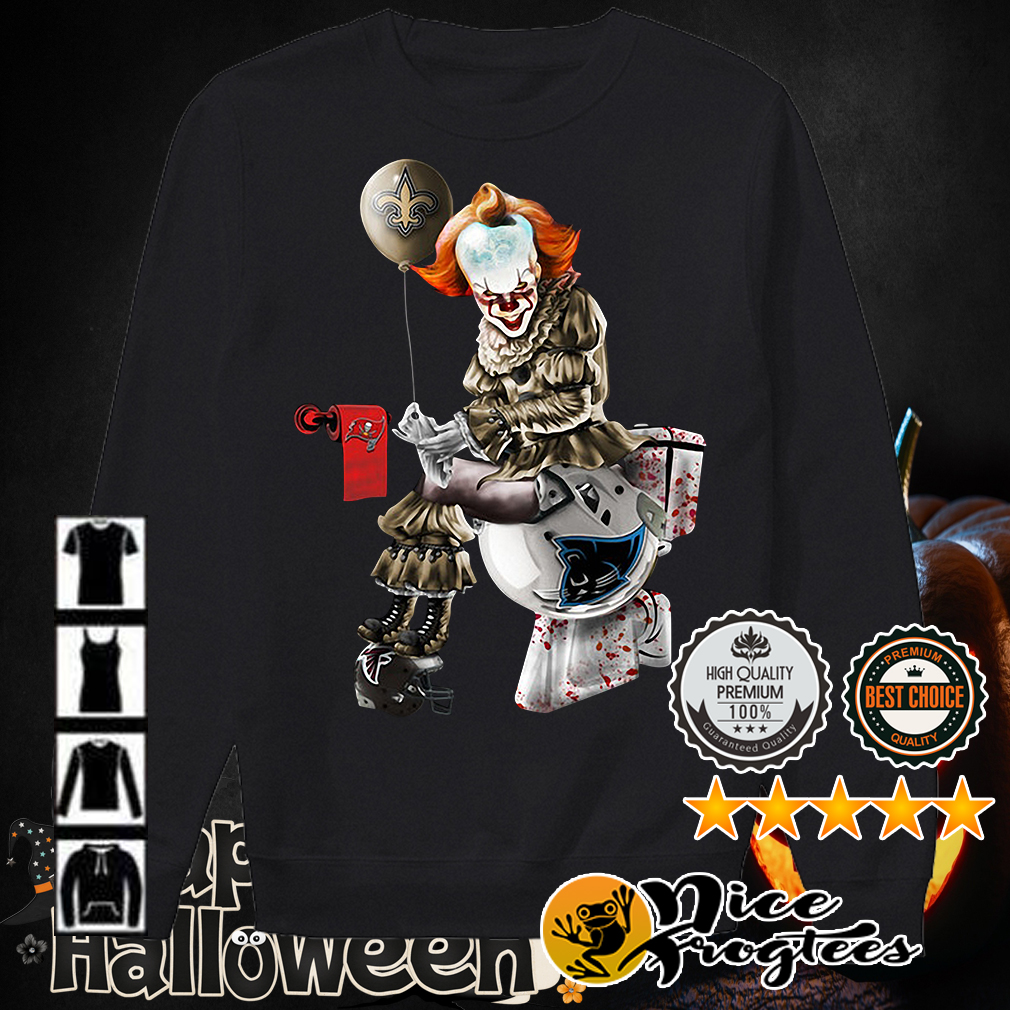 Pennywise Halloween New Orleans 2020 Pennywise New Orleans Saints Tampa Bay Buccaneers and Carolina