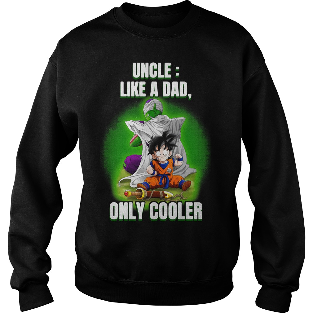 Piccolo and Gohan Uncle Definition Meaning like a Dad only cooler Sweater