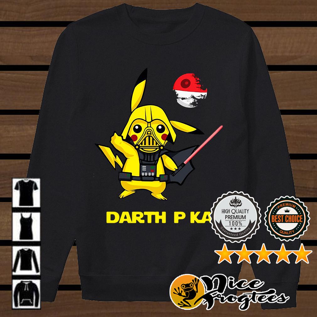 Pikachu cosplay Darth Vader Star Wars shirt