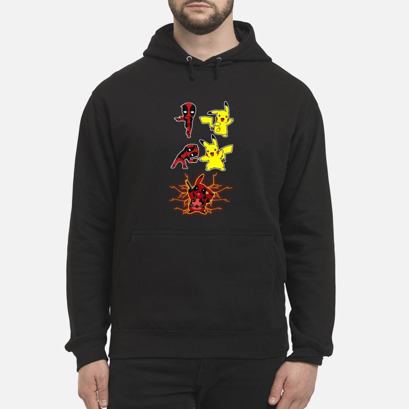 Pikapool Deadpool and Pikachu Fusion Hoodie