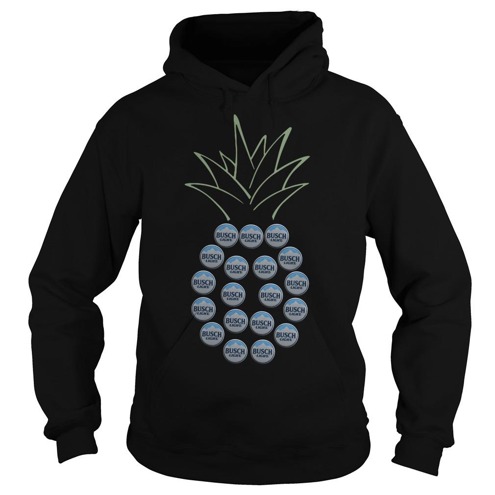 Pineapple Busch Light Hoodie
