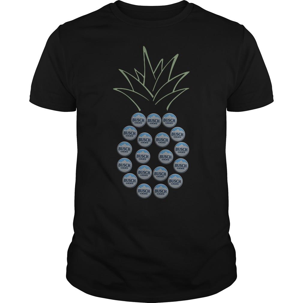 Pineapple Busch Light shirt