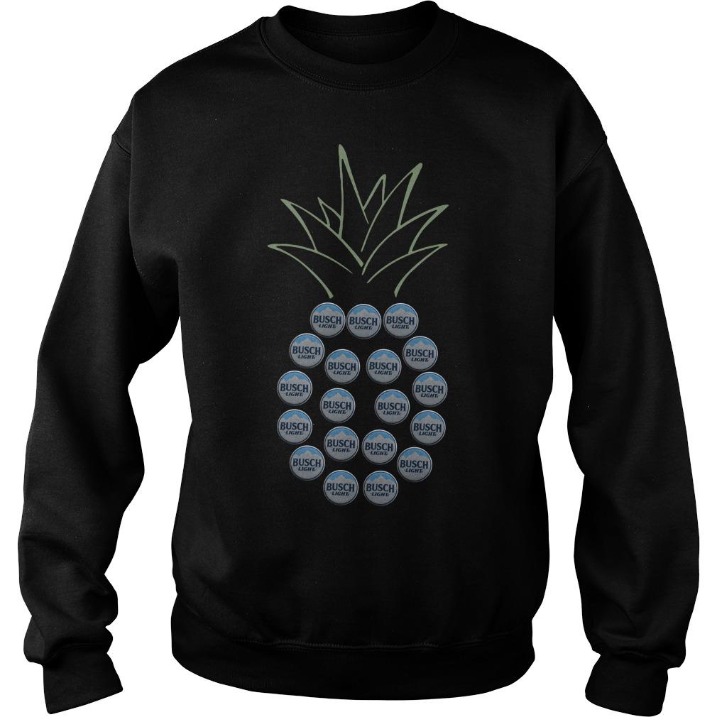 Pineapple Busch Light Sweater