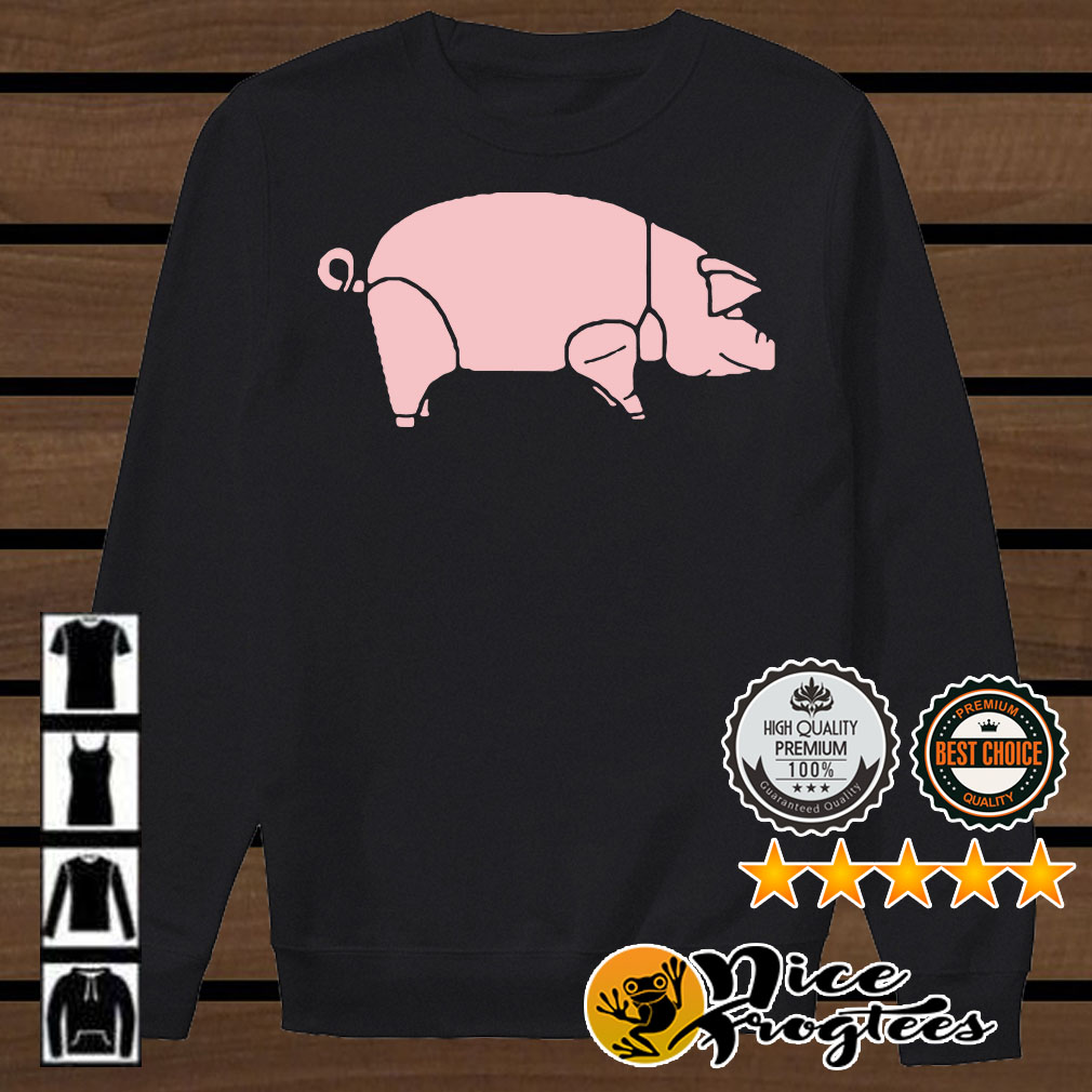 Pink Floyd pink pig shirt