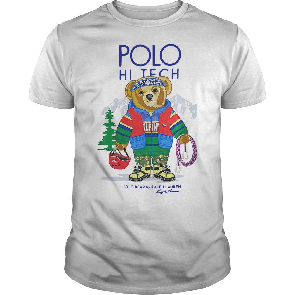6af35338 Polo Ralph Lauren hi tech bear shirt – Campaign and Groupon