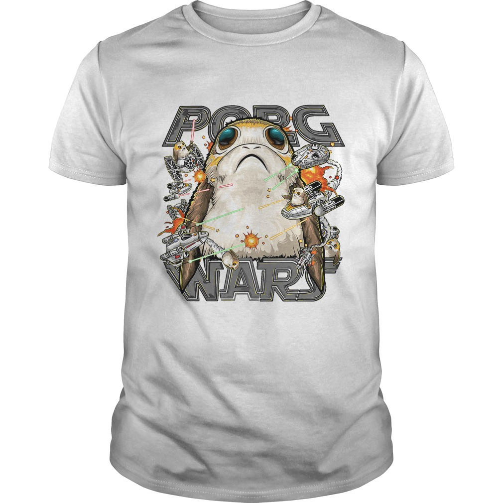 star wars porg wars shirt the last jedi porg wars shirt. Black Bedroom Furniture Sets. Home Design Ideas