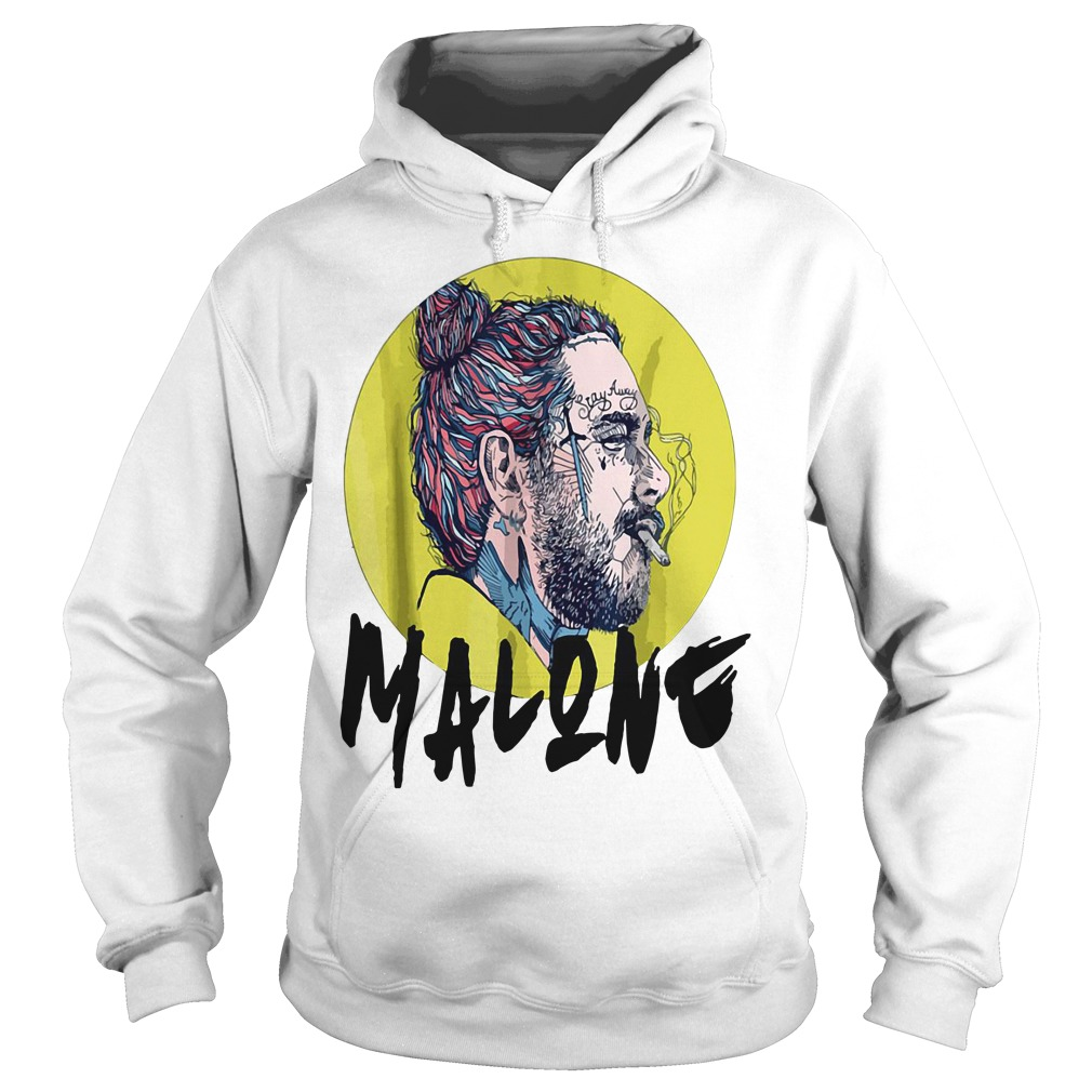 Post Malone Hit This Hard: Post Malone Is Smoking Vintage Shirt, Hoodie, Sweater And