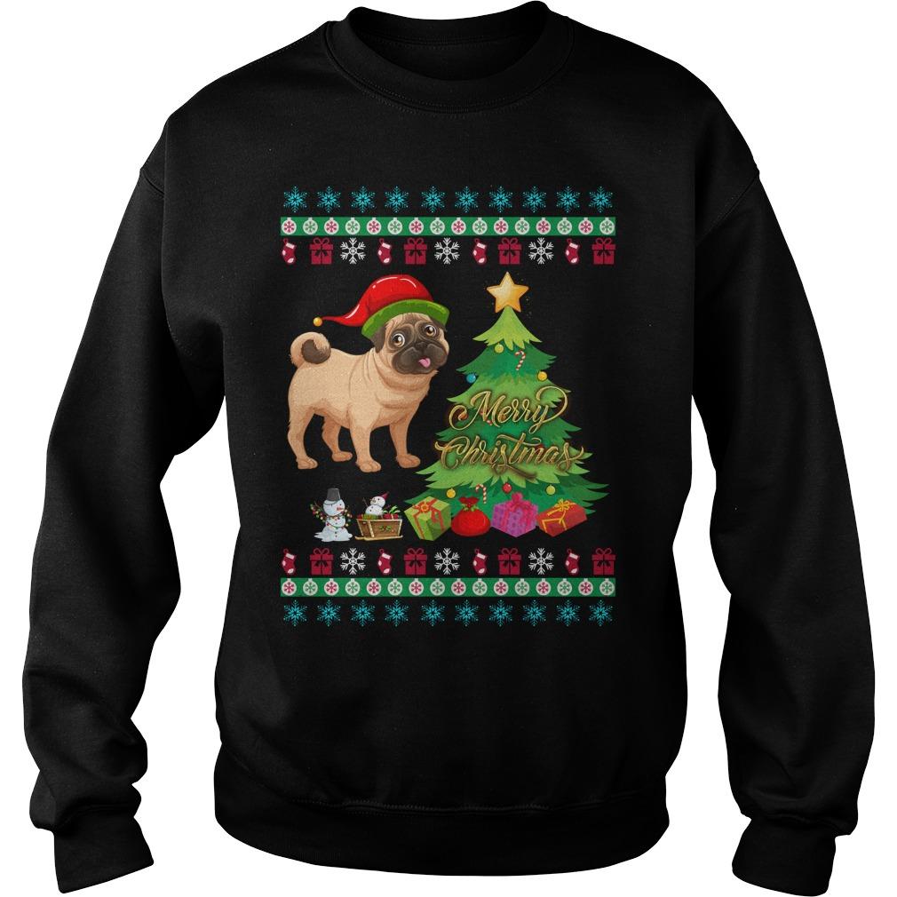Pug ugly Christmas sweater, shirt, hoodie and longsleeve tee