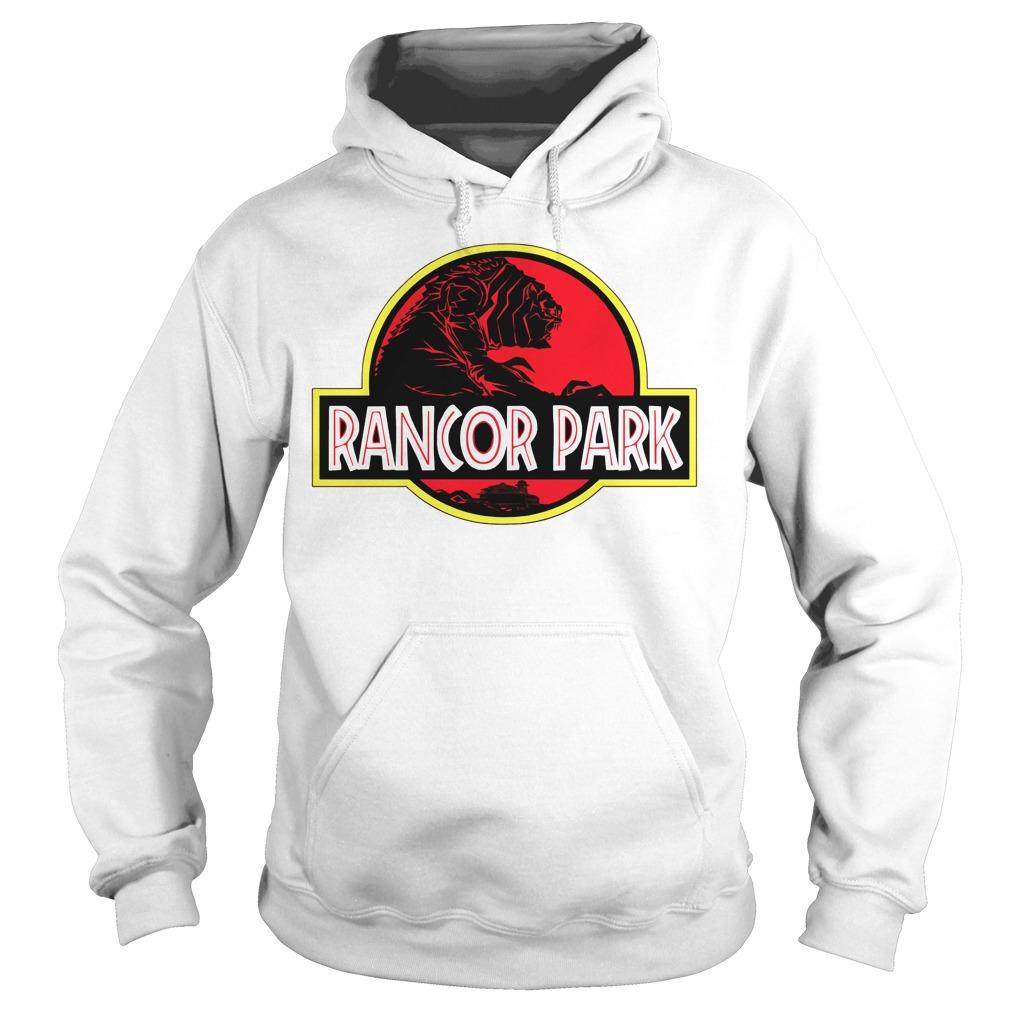 Rancor Park Jurassic Park vs Star Wars Mashup Hoodie