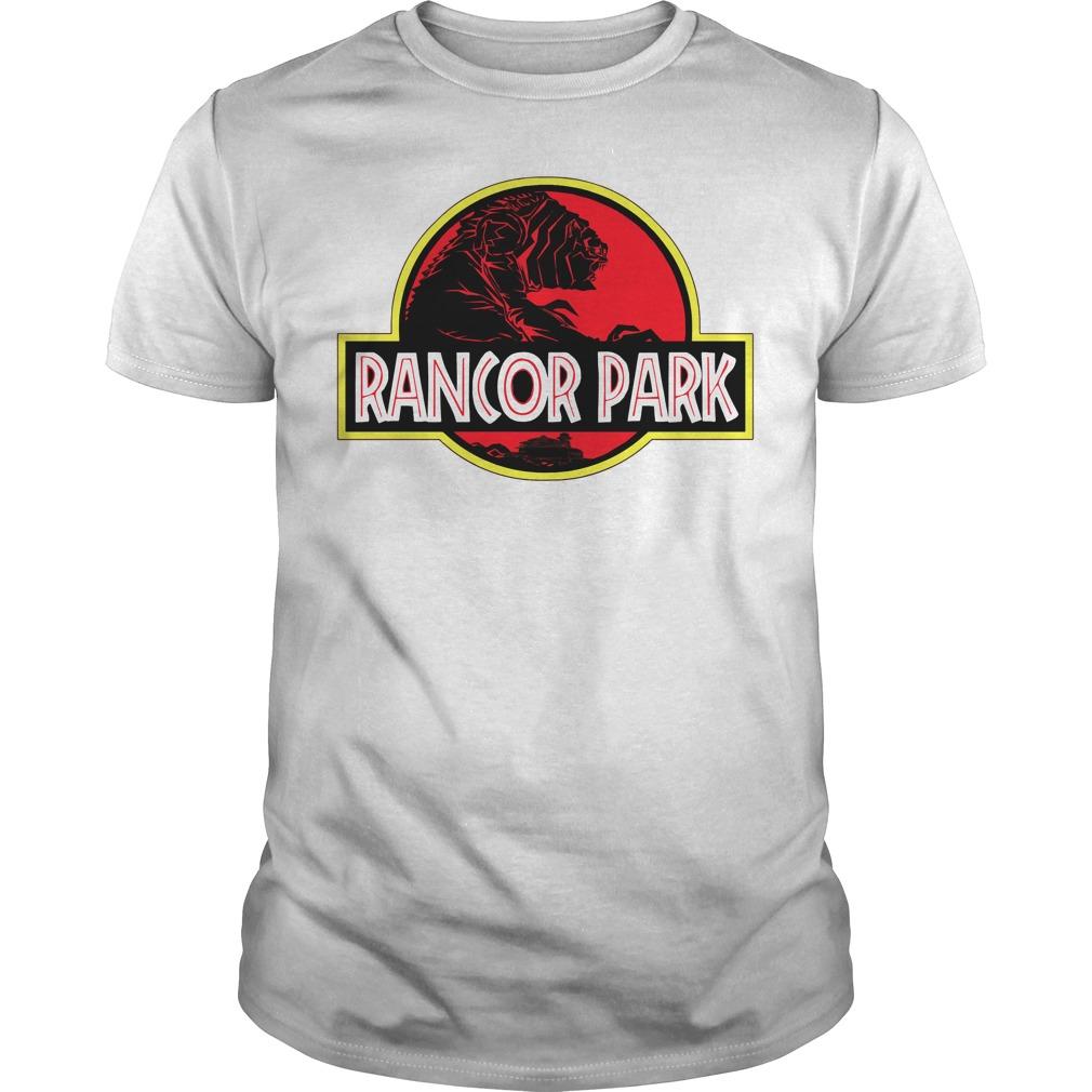 Rancor Park Jurassic Park vs Star Wars Mashup shirt