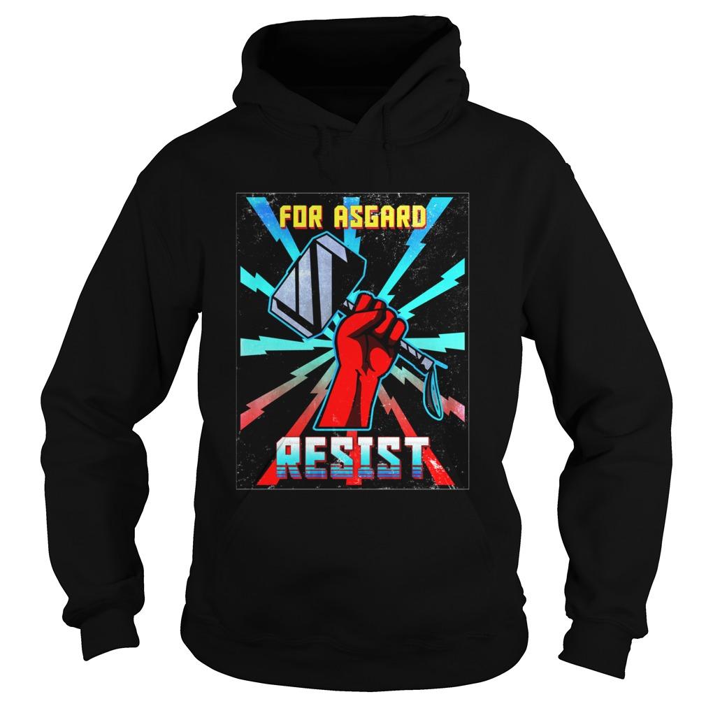RETRO For Asgard Thor Ragnarok Propaganda Hoodie