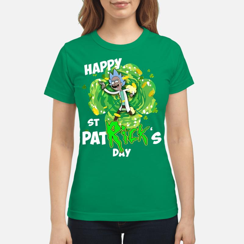 Rick Gimmie happy St Patrick's Day Ladies tee
