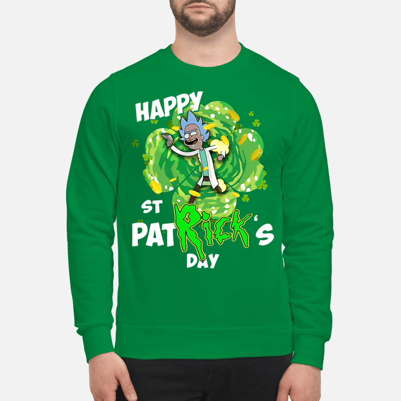 Rick Gimmie happy St Patrick's Day Sweater