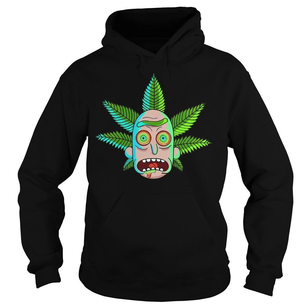 Rick and Morty Cannabis Hoodie