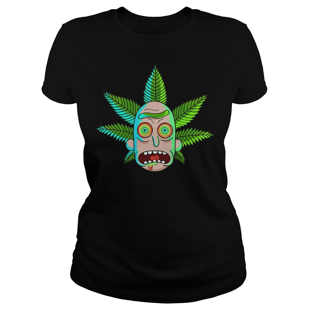 Rick and Morty Cannabis Ladies tee