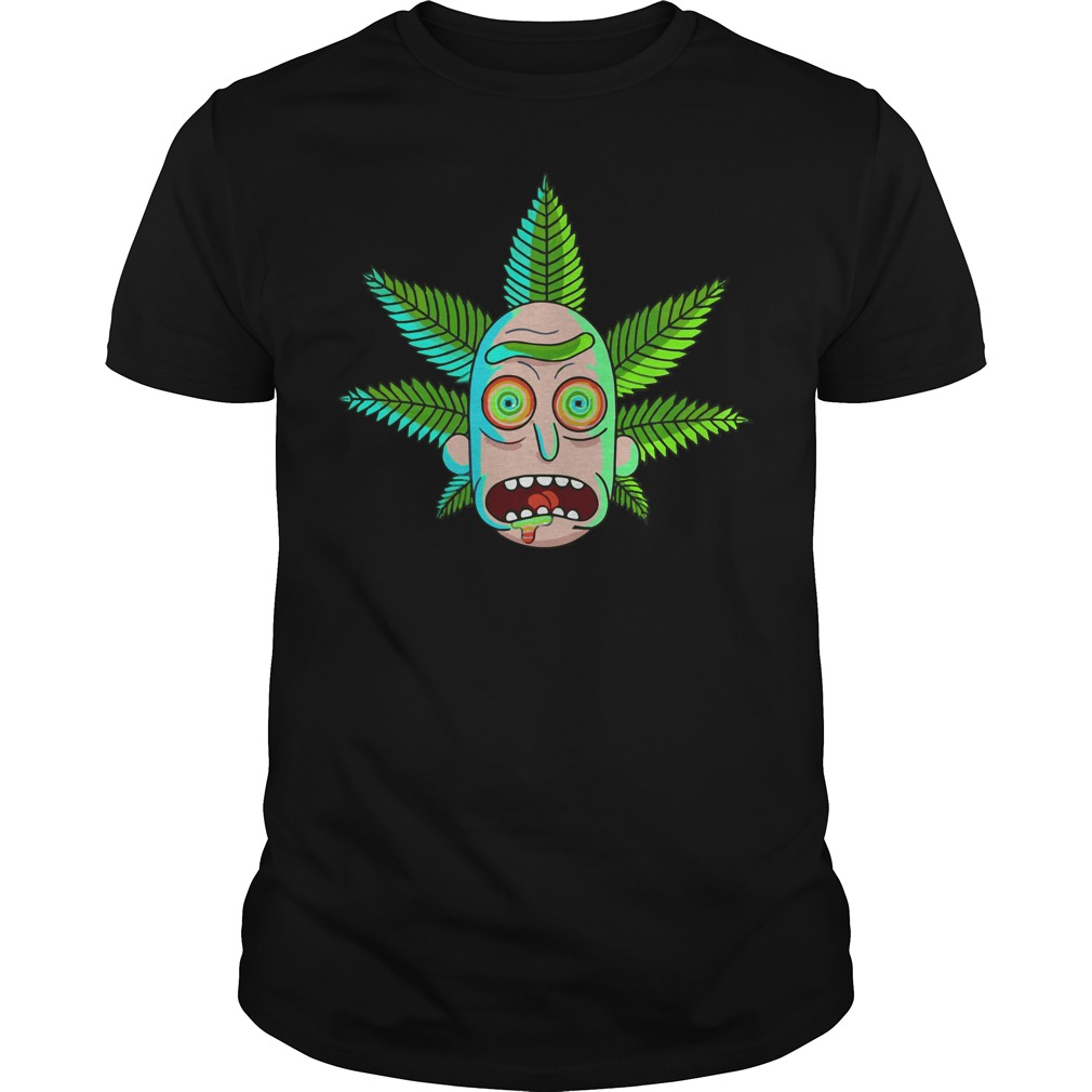 Rick and Morty Cannabis shirt