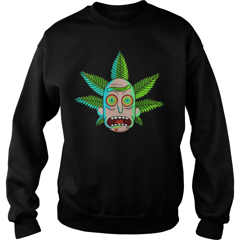 Rick and Morty Cannabis Sweater