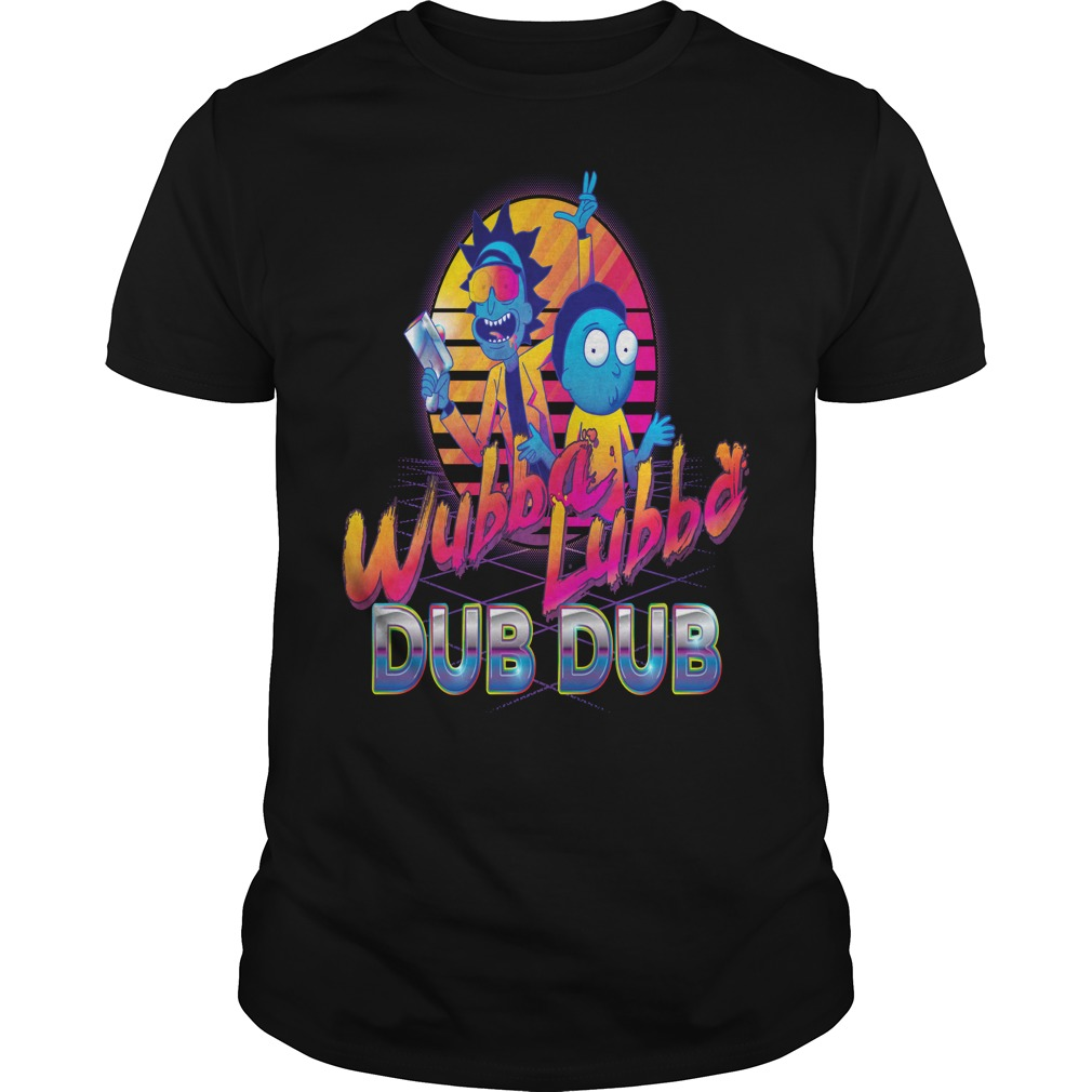 Rick and Morty Neon T-shirt