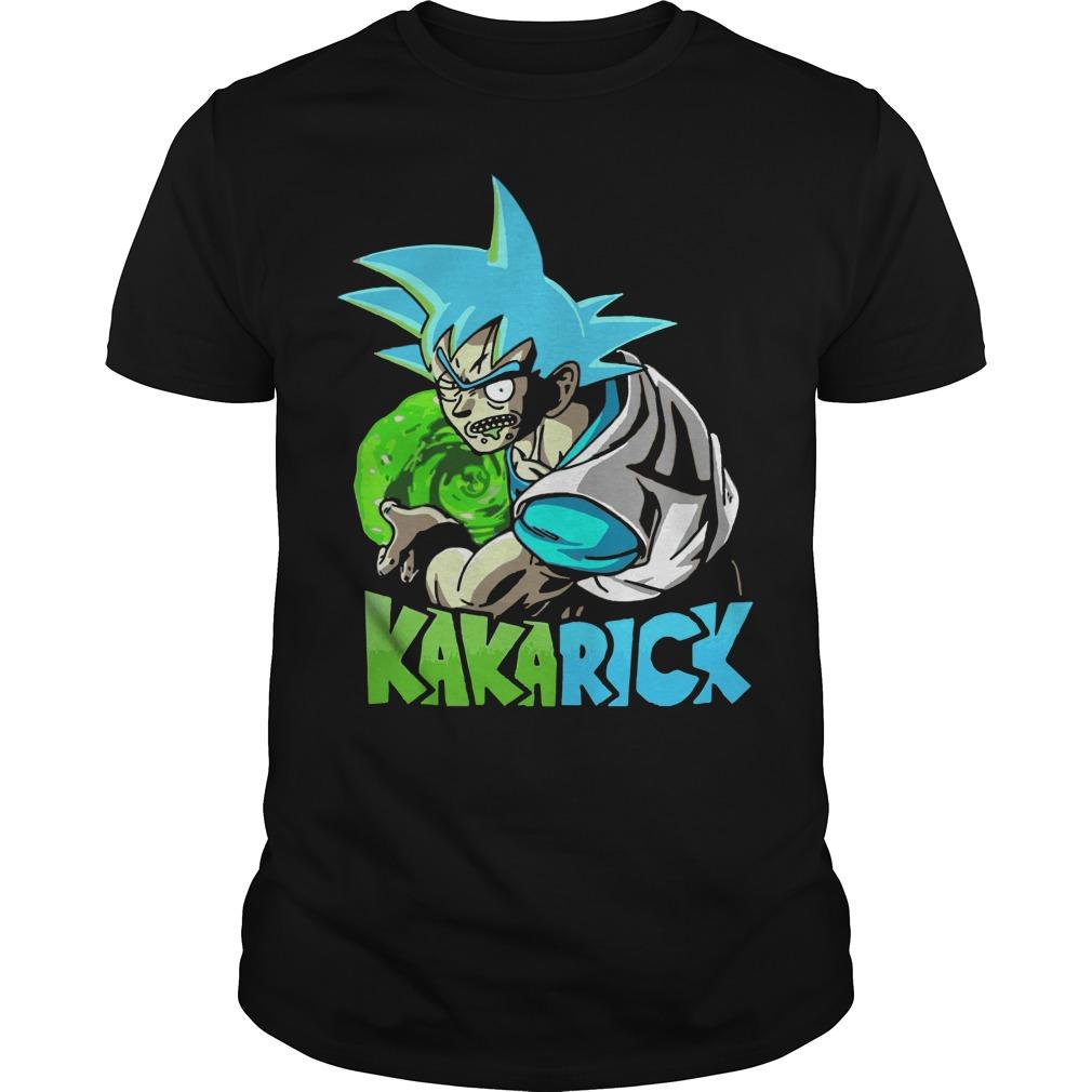 Rick and Morty vs DBZ Kakarick shirt