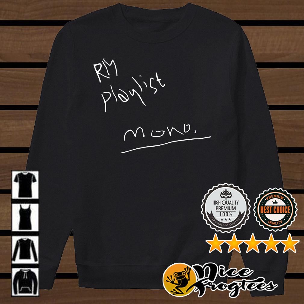 RM playlist mono shirt