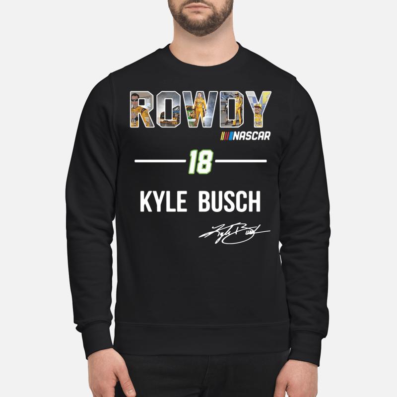 Rowdy Nascar 18 Kyle Busch Sweater
