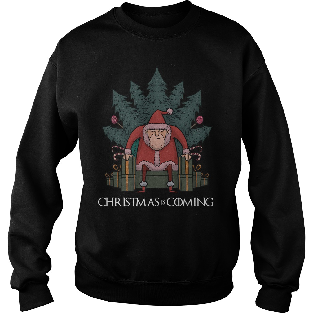 Santa Of Thrones - Christmas is coming sweater