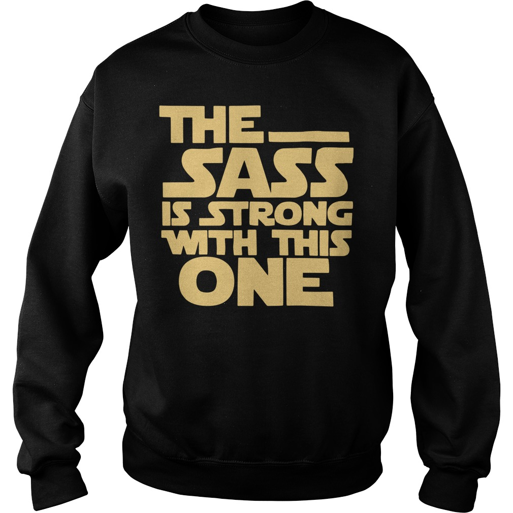 The sass is strong with this one Star Wars Sweater