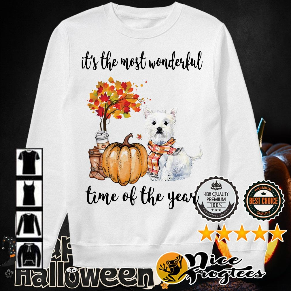 Shih Tzu it's the most wonderful time of the year shirt