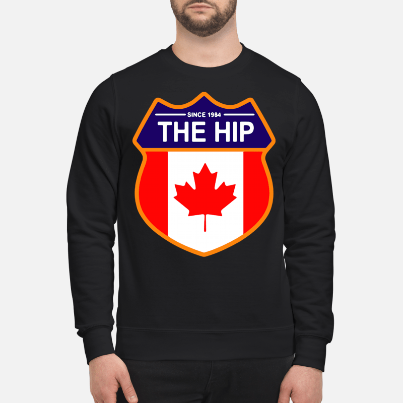 Since 1984 the Tragically Hip Canada Sweater