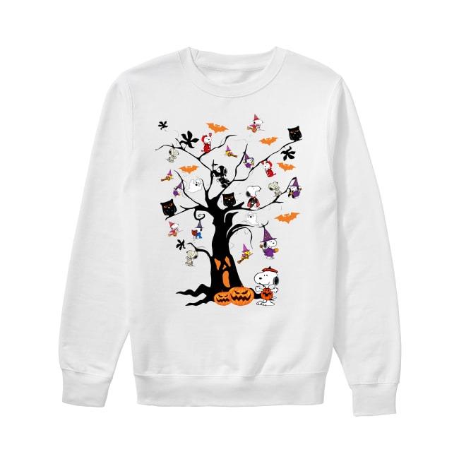 Snoopy Halloween tree Sweater