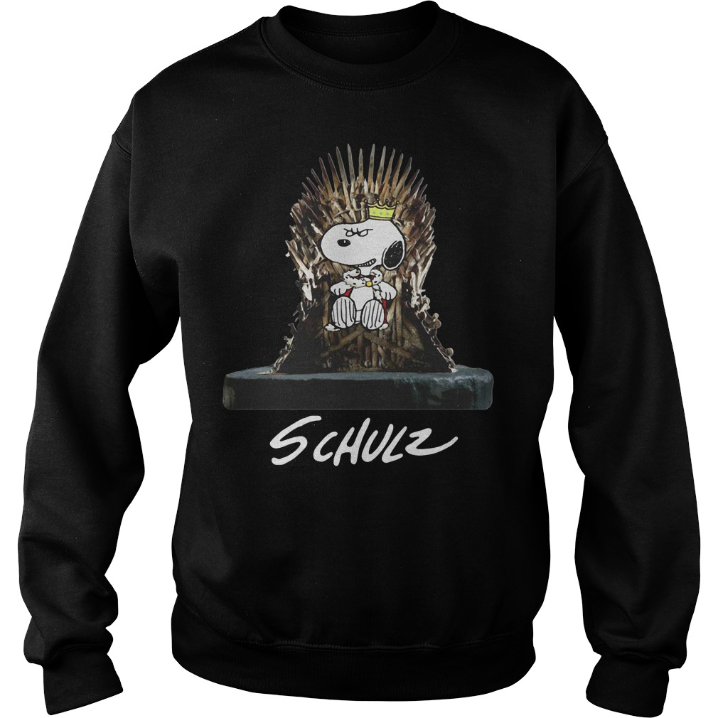 Snoopy King Schulz Game of Thrones Sweater
