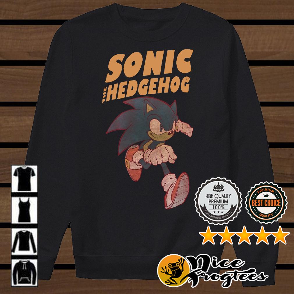Sonic hedgehog shirt