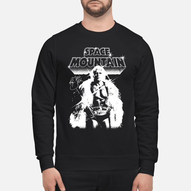 Space mountain Ric Flair signature Sweater