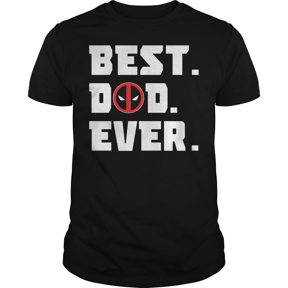 Spiderman Best dad ever shirt