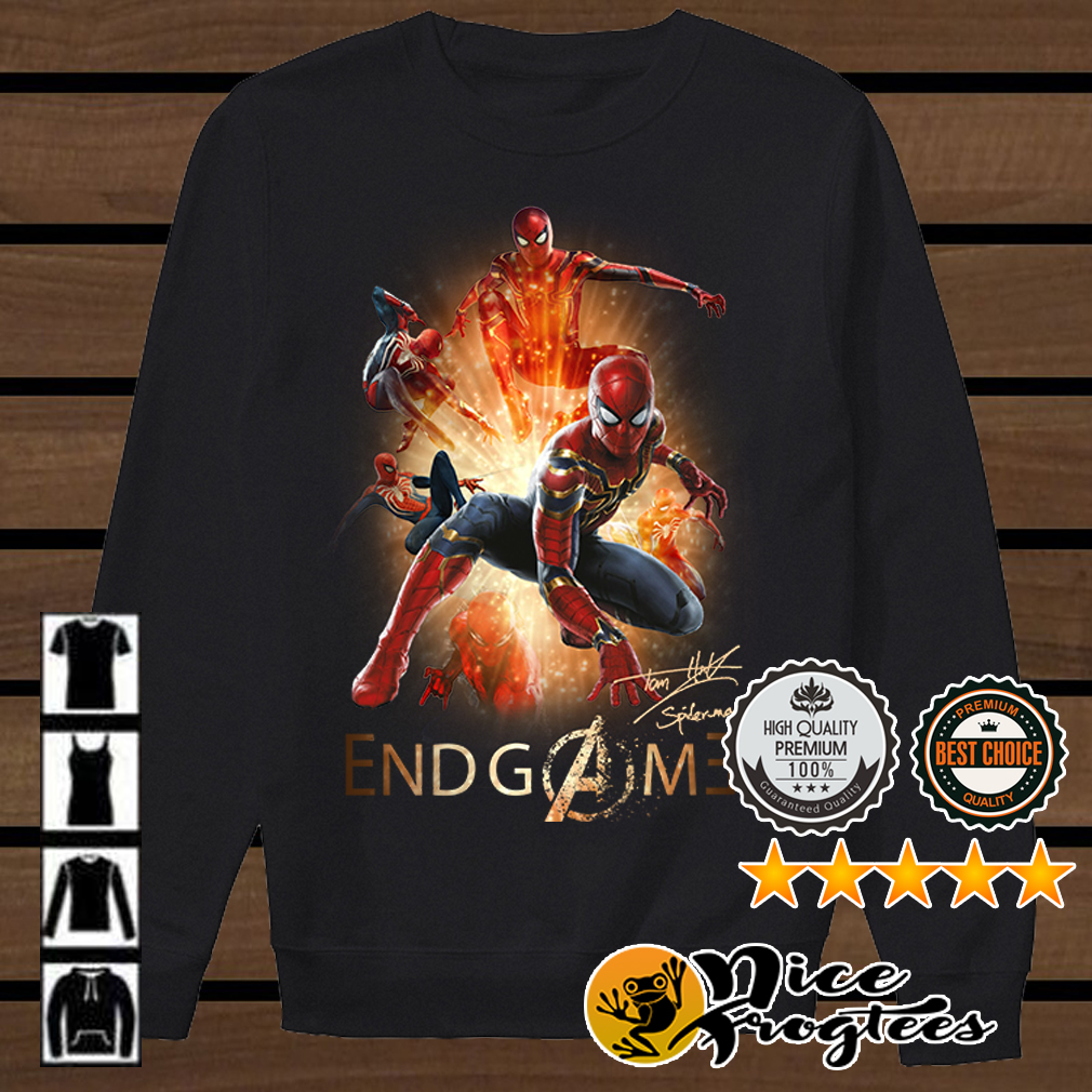 Spiderman Endgame shirt