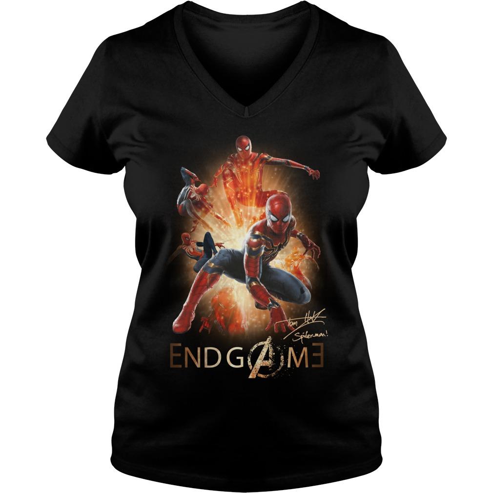 Spiderman Endgame V-neck t-shirt
