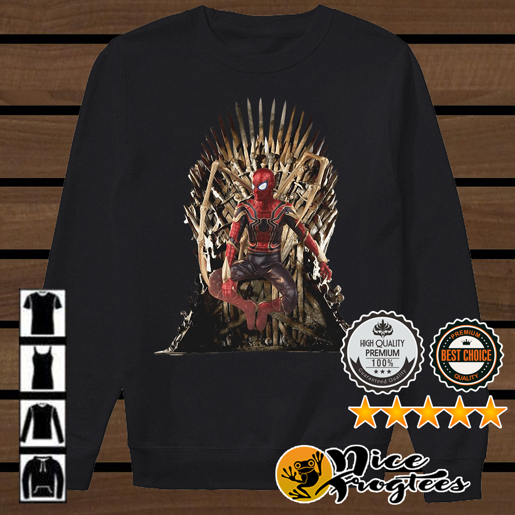 Spiderman Game of Thrones shirt