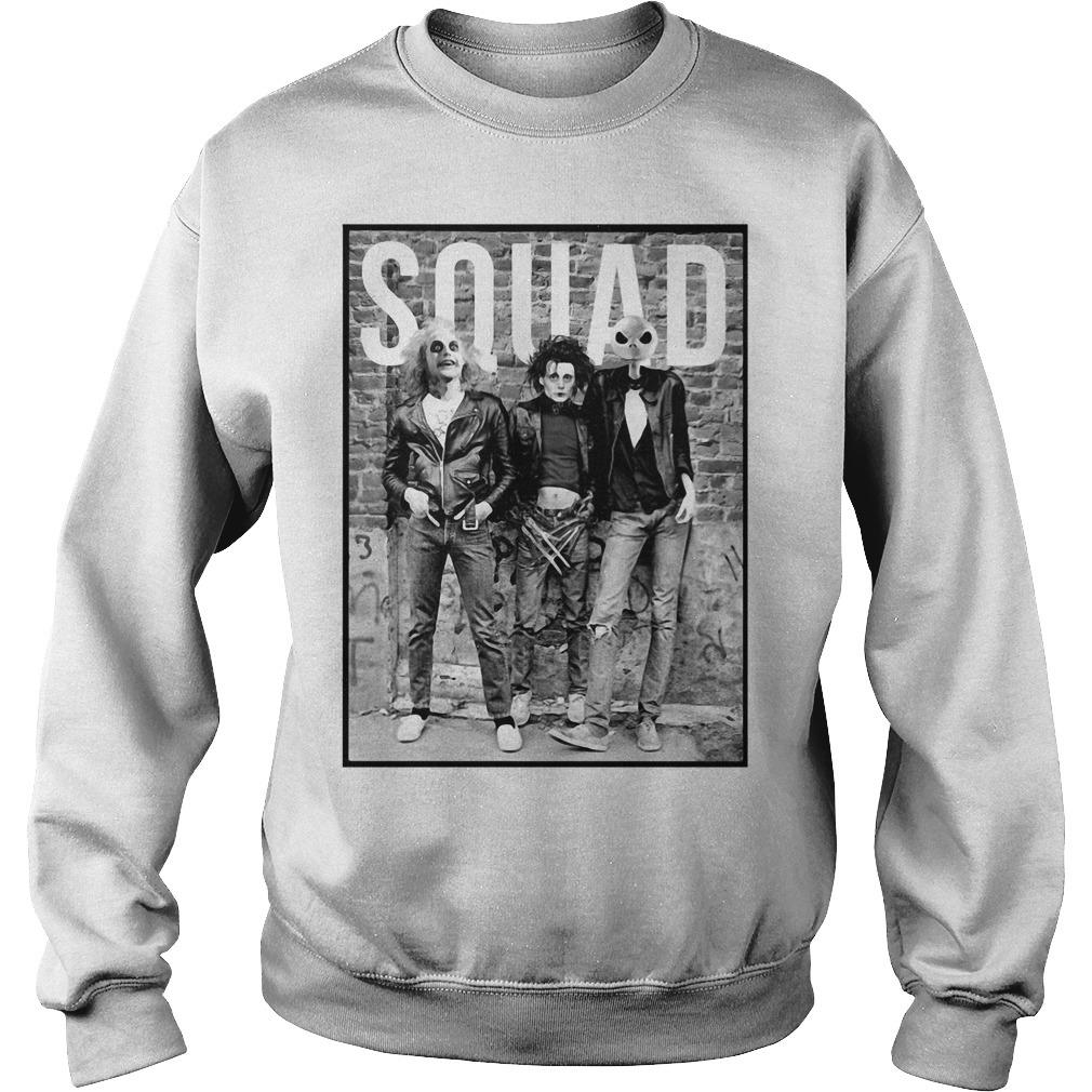 Squad Horror Halloween Movie Sweater