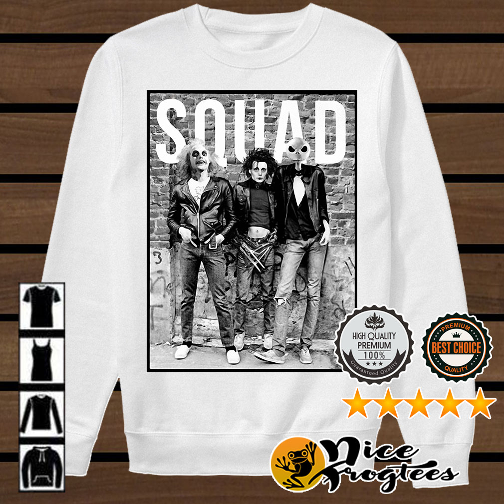 Squad Horror Halloween Movie shirt
